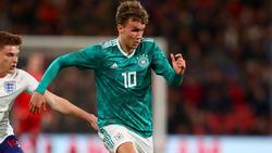 Luca Waldschmidt traf doppelt für die deutsche U21