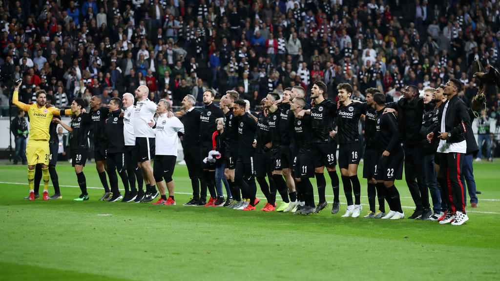 Auch in der neuen Saison spielt Eintracht Frankfurt international