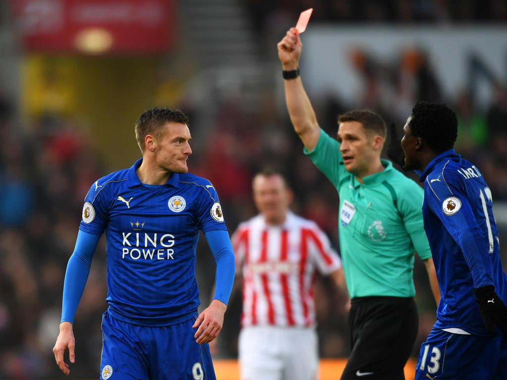 Premier League » News » Vardy ban 'unfair' says Leicester ...