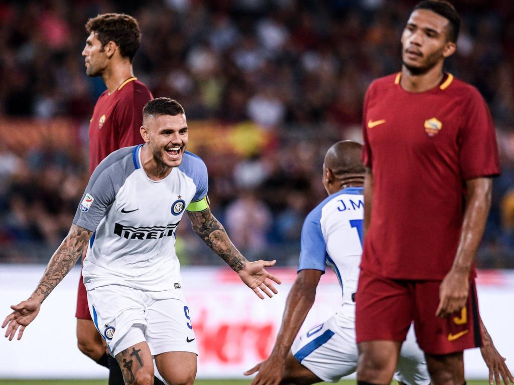 Icardi feierte einen Doppelpack gegen die Roma