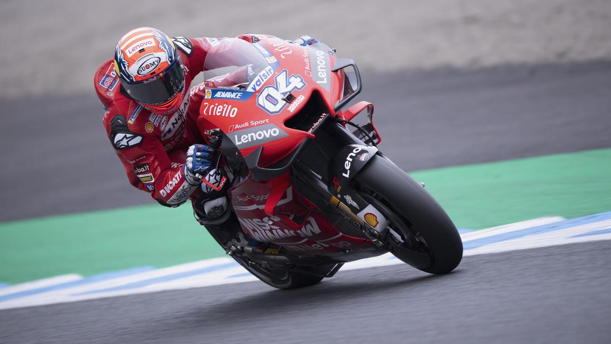 Andrea Dovizioso geht nach seinem 100. MotoGP-Podest hart mit sich ins Gericht