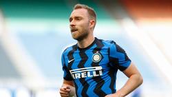Christian Eriksen steht bei Inter in Italien unter Vertrag