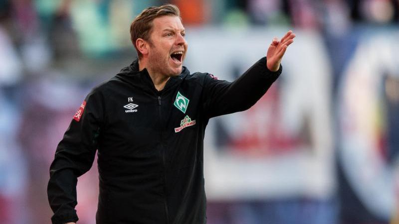 Florian Kohfeldt trifft mit Werder Bremen auf den BVB