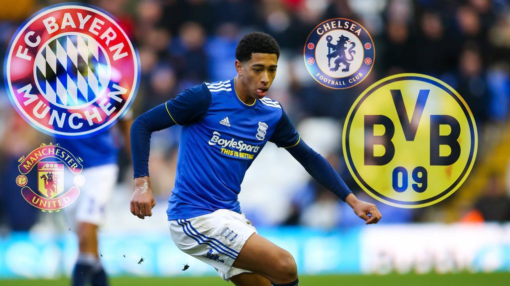 Jude Bellingham steht bei den Verantwortlichen des FC Bayern, BVB, Manchester United und Chelsea hoch im Kurs
