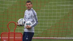 Lucas Hernández ist noch nicht beim FC Bayern angekommen