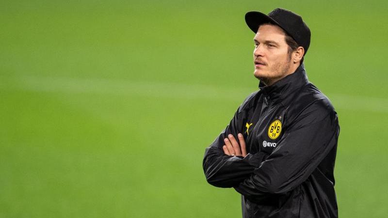 Edin Terzic muss mit dem BVB bei Eintracht Braunschweig ran