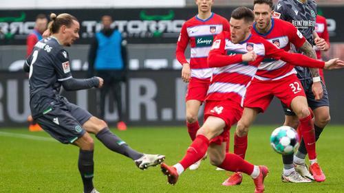 Hannover verlor erneut ein Auswärtsspiel