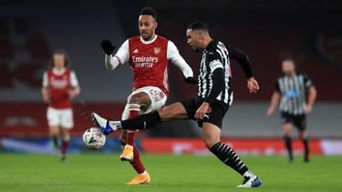 Pierre-Emerick Aubameyang traf für den FC Arsenal