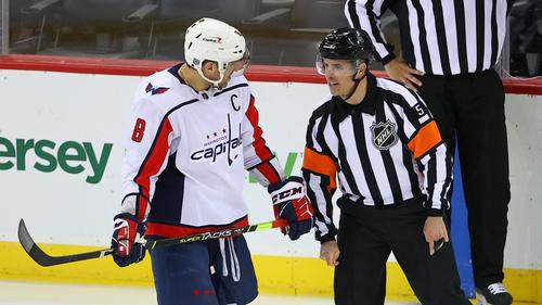 Alexander Ovechkin von der NHL bestraft