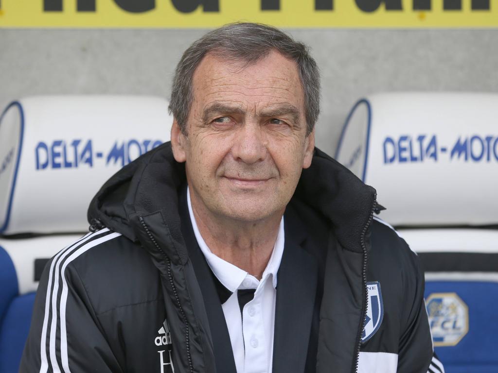 Für Lausanne-Trainer Henri Atamaniuk heisst es Abschied nehmen von der Super League