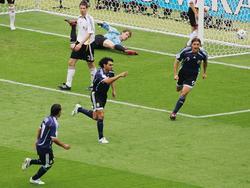 WM 06: Ayala bringt Argentinien in Führung