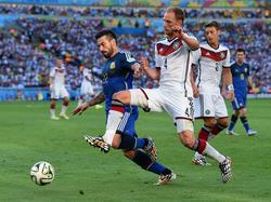 WM-Finale 2014: Höwedes kompromisslos gegen Lavezzi