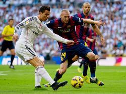 Ronaldo bekommt es immer wieder mit Mathieu zu tun