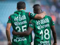 Armenteros und Hurtado feiern den Sieg über Cruz Azul