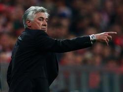 Carlo Ancelotti vom FC Bayern München (21.09.16).