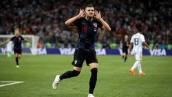 Ante Rebic überzeugt bei der WM mit guten Leistungen