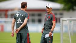 Robert Kovac (r.) ist Co-Trainer unter seinem Bruder Niko beim FC Bayern München (Bildquelle: Twitter)