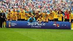 Die Belgier sicherten sich den dritten Platz bei der WM