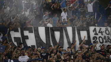 Fußballfans in ganz Italien gedenken der Opfer von Genua