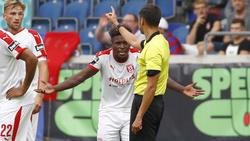 Braydon Manu ist für vier Spiele gesperrt worden