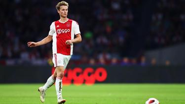 Der Vertrag von Frenkie de Jong bei Ajax läuft noch bis 2022