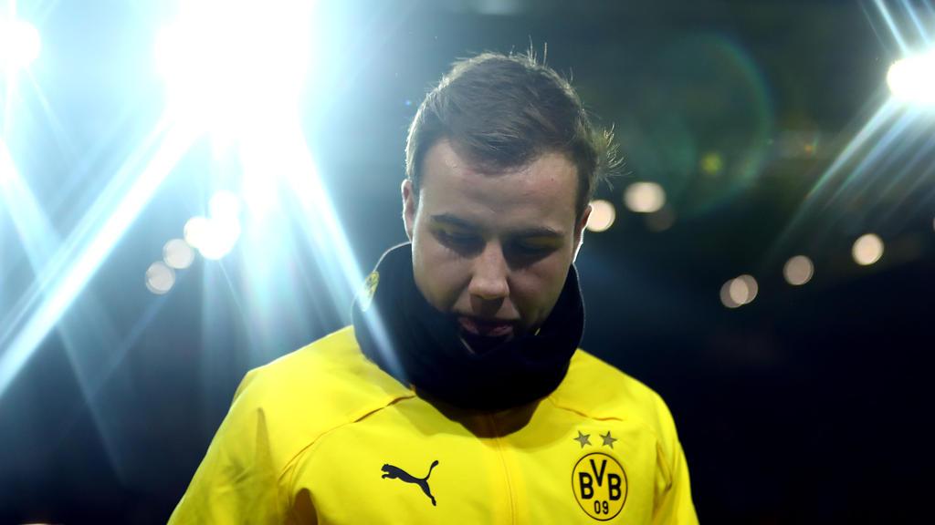Mario Götze hat sich in Dortmund wieder ins Rampenlicht gespielt