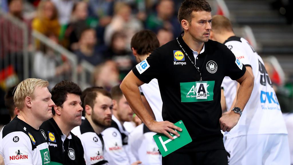Christian Prokop muss bis zur WM noch zwei Spieler aus dem Kader streichen