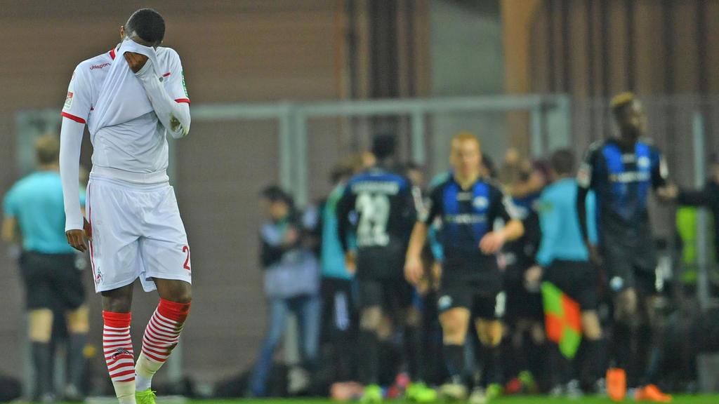 Köln verliert trotz 2:0-Führung: Anthony Modeste konnte es nicht fassen