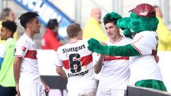Der VfB Stuttgart hat eine Punkt gegen die TSG Hoffenheim erkämpft