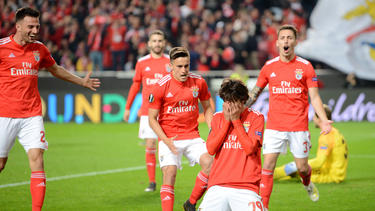 João Félix brilló con un doblete contra el Eintracht en la Europa League. (Foto: Getty)