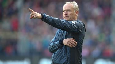 Christian Streich und der SC Freiburg haben den Klassenerhalt sicher