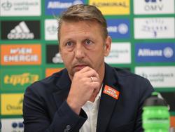 Rapid-Sportchef Zoran Barišić hat derzeit viel zu tun