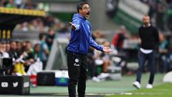 David Wagner holte in seinem ersten Bundesligaspiel einen Punkt