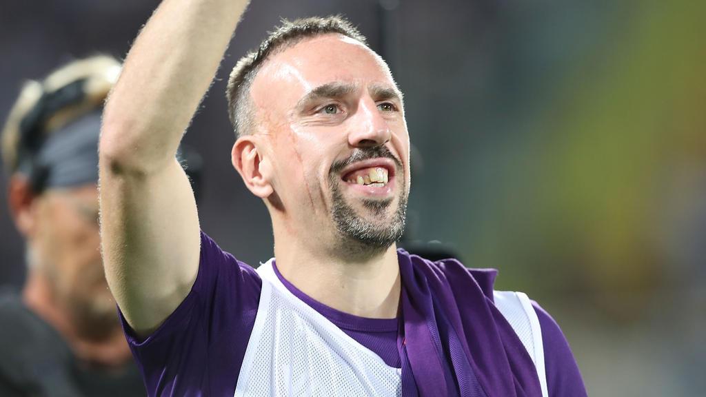 Franck Ribéry wird von seinem neuen Sportdirektor gelobt