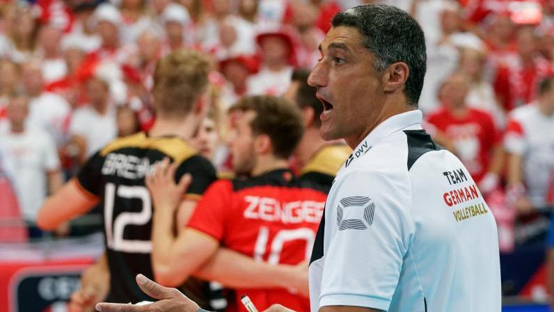 Andrea Giani fordert de richtige Einstellung von seinem Team