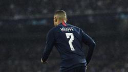 Kylian Mbappé war gleich zweimal für PSG erfolgreich