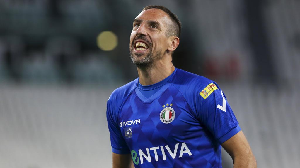 Streit um eine Unterschrift von Franck Ribéry