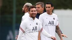 Lionel Messi (Mitte) ist der neue Superstar von Paris Saint-Germain