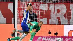 Marko Grujic trifft mit Hertha BSC auf den FC Bayern München
