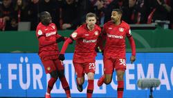 Die Joker führten Bayer Leverkusen im DFB-Pokal zum Sieg