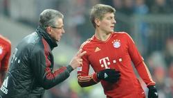 Jupp Heynckes (l) förderte Toni Kroos auch beim FC Bayern
