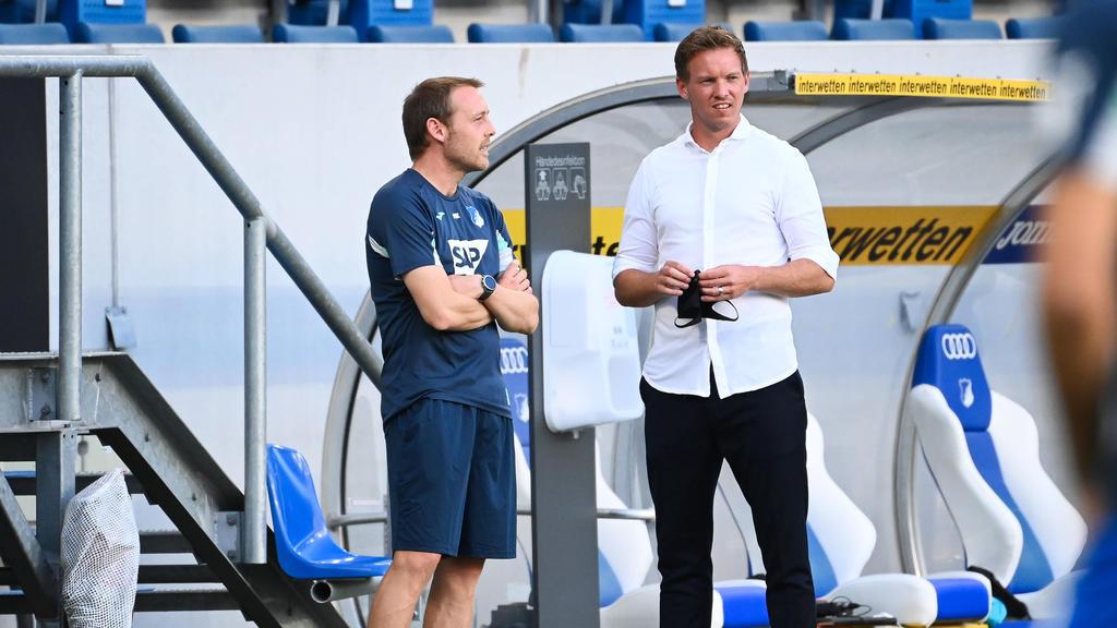 Alte Bekannte: Matthias Kaltenbach und Julian Nagelsmann