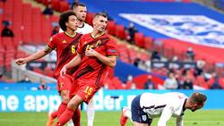 Für Belgien unterwegs: Das BVB-Duo Axel Witsel und Thomas Meunier