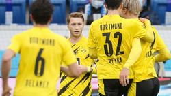 Marco Reus avancierte zum BVB-Matchwinner