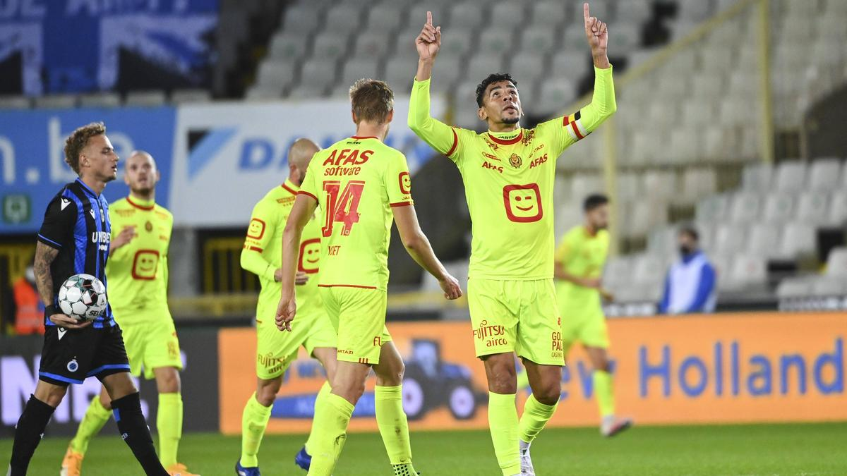 Igor de Camargo (r.) hat BVB-Gegner FC Brügge geschockt