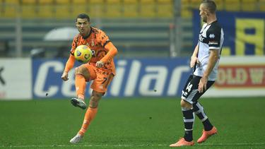 Cristiano Ronaldo knipste am Samstag doppelt für Juventus