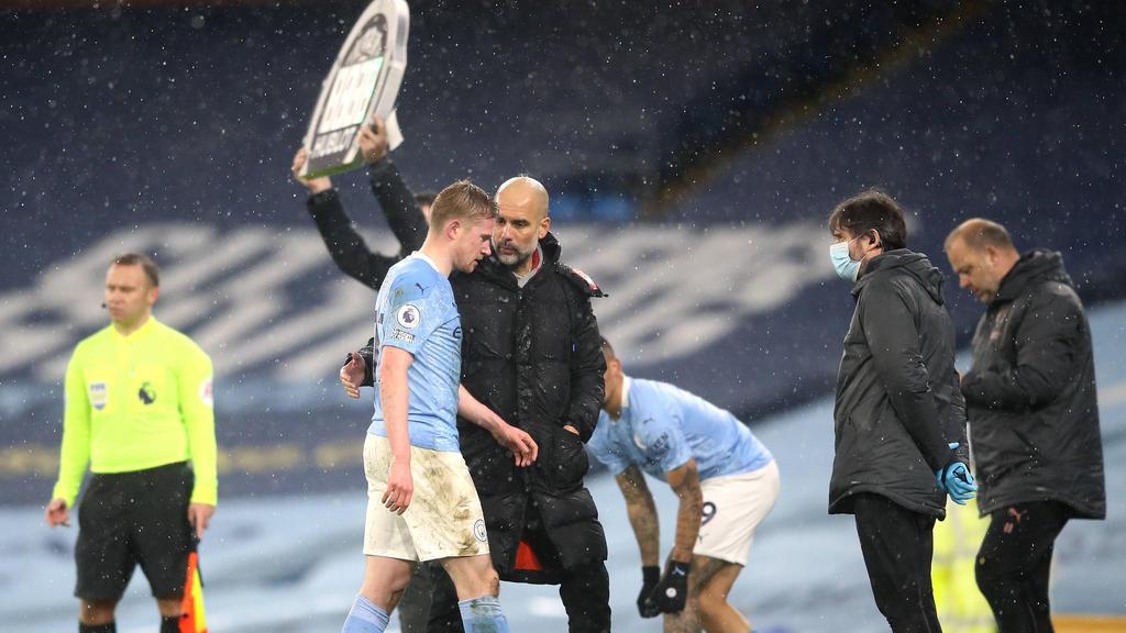 Fehlt Manchester City einige Wochen: Kevin De Bruyne