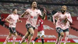 Sheffield United gewann völlig überraschend im Old Trafford
