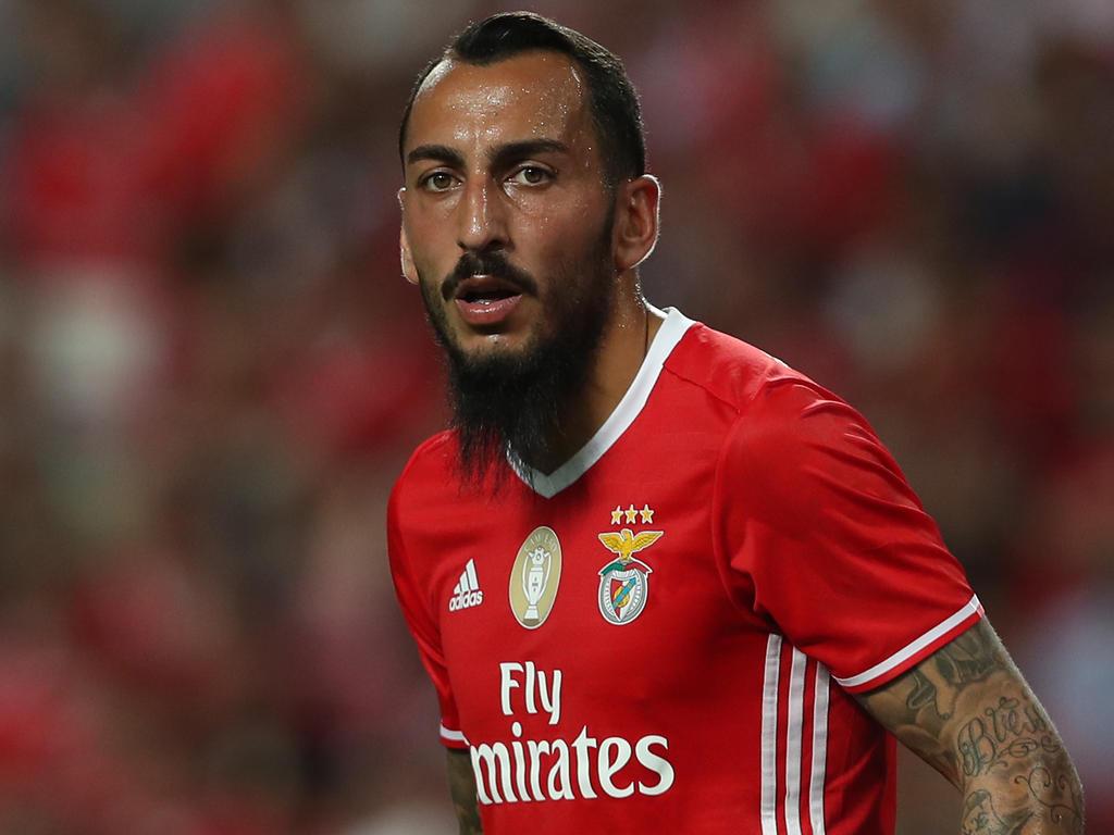 Mitroglu abrió el marcador para el Benfica. (Foto: Getty)