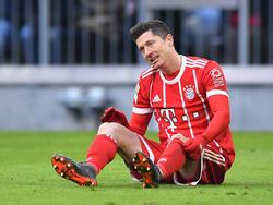 Robert Lewandowski verpasste einen neuen Bundesliga-Rekord